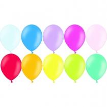 Латексные шары круглые без рисунка 1101-0026 В 105 Пастель ассорти