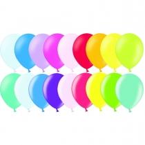 Латексные шары круглые 1101-0035 В 85 Пастель ассорти