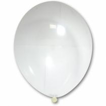 """Латексные шары круглые без рисунка 1102-1281 и 14""""/00 кристалл прозрачный"""