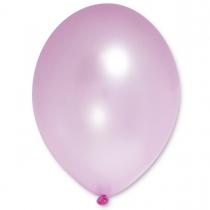 Латексные шары круглые без рисунка 1102-0042 в105/071 металлик розовый