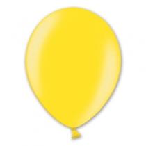 Латексные шары круглые без рисунка 1102-0053 в105/082 металлик лимонный