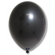 Латексные шары круглые без рисунка 1102-0194 в85/025 пастель черный