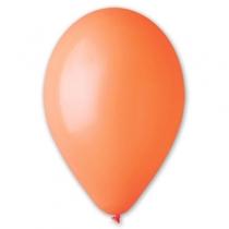 """Латексные шары круглые без рисунка 1102-0263 и 10""""/04 пастель оранжевый"""