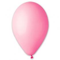 """Латексные шары круглые без рисунка 1102-0265 и 10""""/06 пастель светло розовый"""