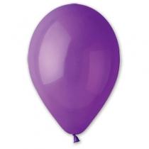 """Латексные шары круглые без рисунка 1102-0267 и 10""""/08 пастель фиолетовый"""
