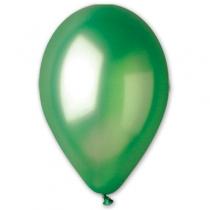 """Латексные шары круглые 1102-0283 И 10""""/37 Металлик зеленый"""