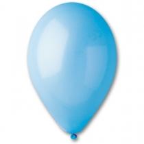 """Латексные шары круглые 1102-0307 И 12""""/09 Пастель светло-голубой"""
