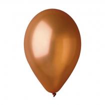 """Латексные шары круглые 1102-3089 И 10""""/66 Металлик коричневый"""