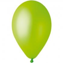 """Латексные шары круглые 1102-3090 И 10""""/67 Металлик светло-зеленый"""