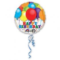 """Фольгированные шары 1202-1536 А 18"""" HeSAVER HB Воздушные шары S40"""