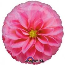 """Фольгированные шары 1202-3461 А 18"""" Цветок розовый"""