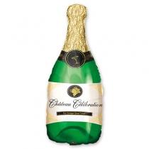 Фольгированные шары 1207-0503 А ФИГУРА/P30 Бутылка шампанского