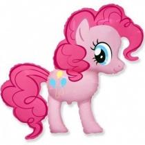 Фольгированные шары большие фигуры 1207-1898 ф фигура/11 my little pony пинки пай розовый /fm