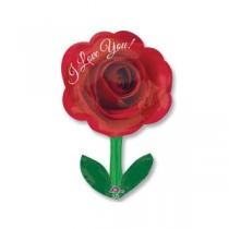 Фольгированные шары большие фигуры 1207-2112 а фигура/s50 ily роза со стеблем
