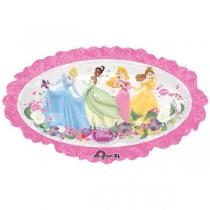 Фольгированные шары 1207-3316 А ФИГУРА Принцессы на цветочном поле