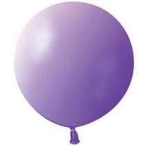 """Латексные шары круглые 1102-0400 И 27""""/08 Пастель фиолетовый"""