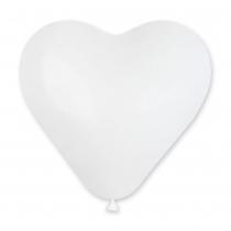 Латексные шары круглые  1111-0044 Шар сердце на выбор (красный, белый)