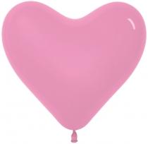 Сердце (12''/30 см) Розовый (009), пастель,