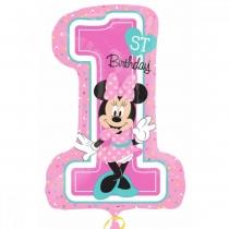 Minnie 1st Birthday, 71 * 48 cm, Anagram