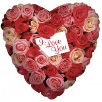 "18 "" HEART Rose Garden Love, Mexic"