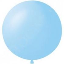"""Латексные шары круглые 1102-0401 И 27""""/09 Пастель светло-голубой"""